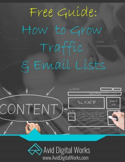 grow an email list