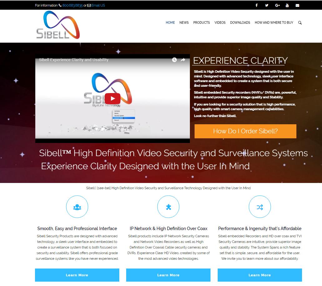 sibell-technology-website
