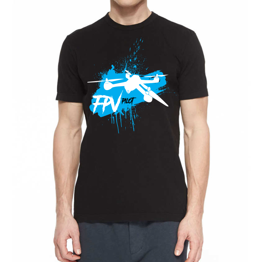 FPV Pilot Racing Quadcopter Shirt design