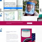 faceshields-usa website